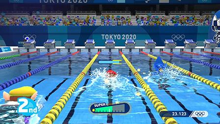 Natación - 100m estilo libre