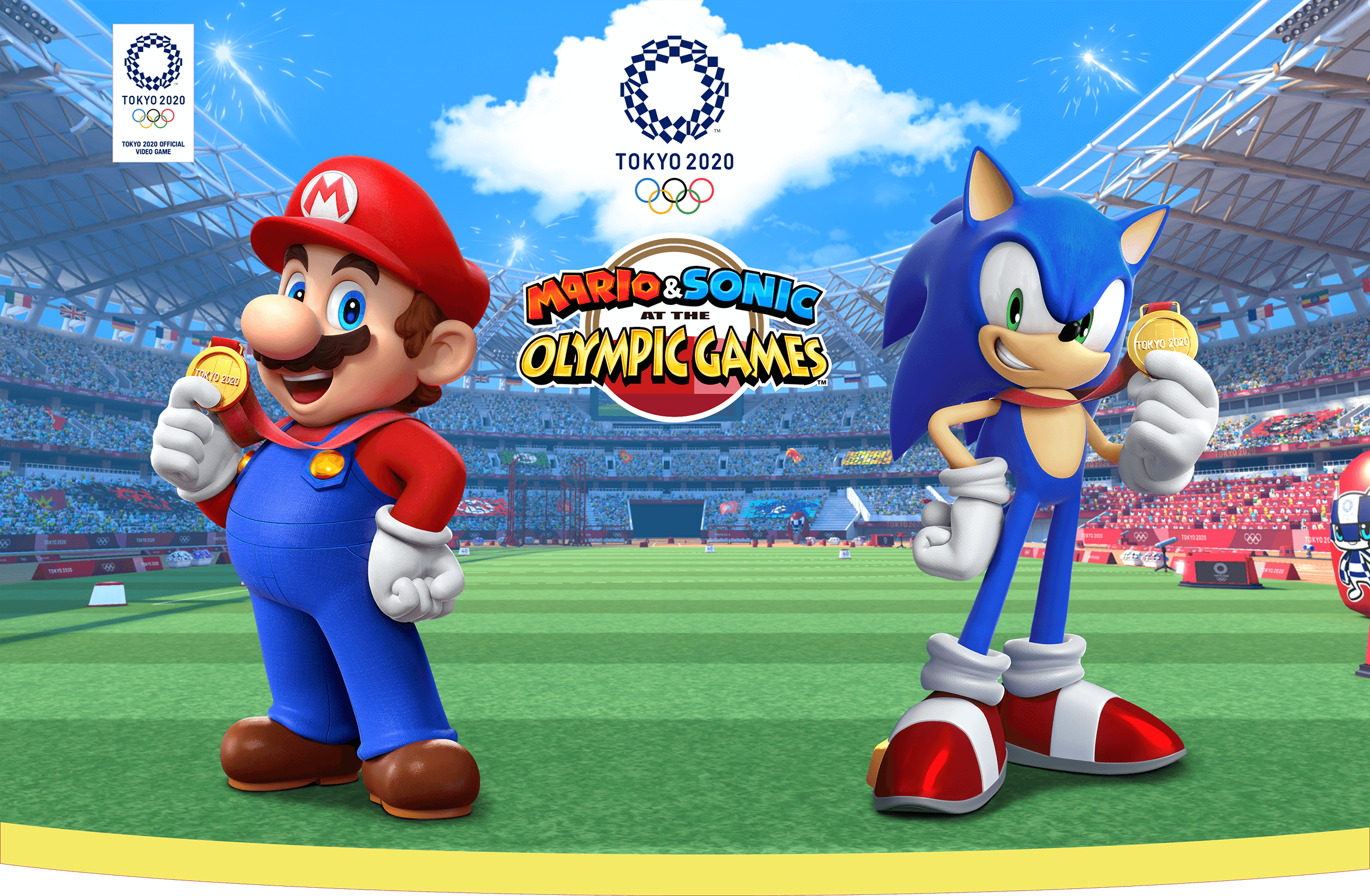 best games 2019 - Mario & Sonic at the Olympic Games Tokyo 2020